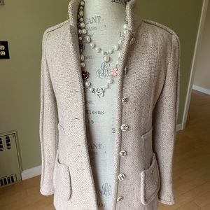 Authentic Chanel cashmere jacket sz 36